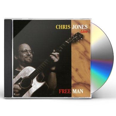 Chris Jones FREE MAN CD