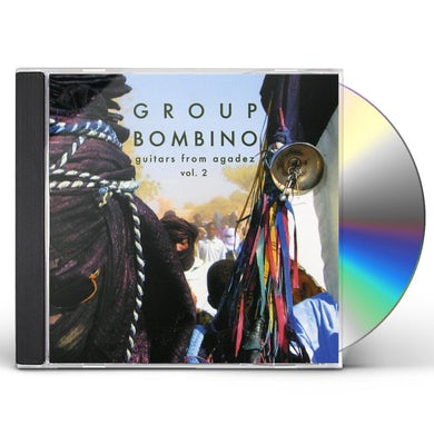 Bombino Music from Niger: Guitars from Agadez, Vol. 2 CD
