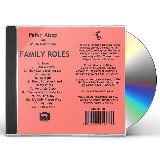 Peter Alsop FAMILY ROLES CD