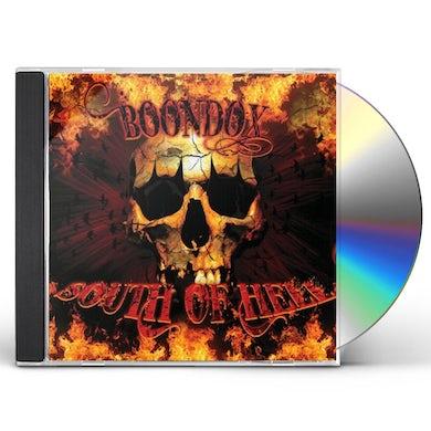 Boondox SOUTH OF HELL CD