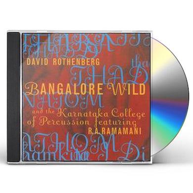 David Rothenberg BANGALORE WILD CD