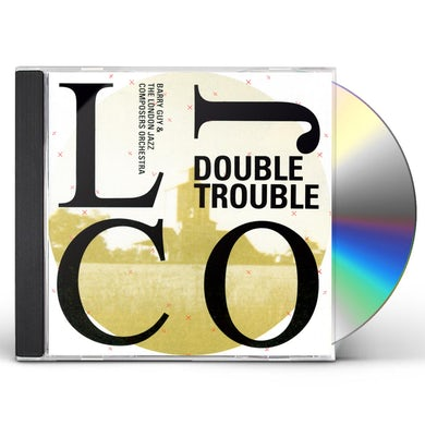 Barry Guy DOUBLE TROUBLE CD