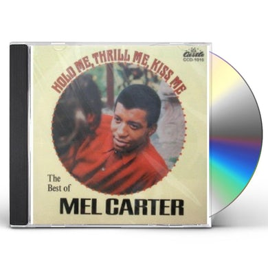 Mel Carter HOLD ME THRILL ME KISS ME / BEST OF (30 CUTS) CD