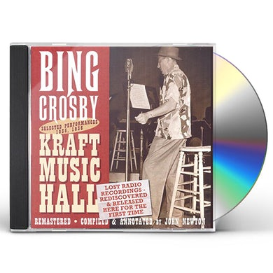Bing Crosby LOST RADIO RECORDINGS RELEASED FOR THE FIRST TIME CD