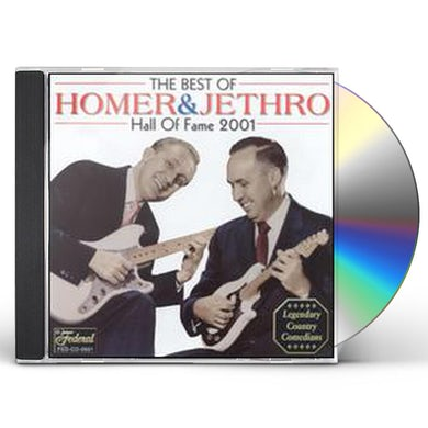 Homer & Jethro BEST OF: HALL OF FAME 2001 CD