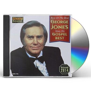 George Jones BEST OF THE BEST: SINGS HIS GOSPEL BEST CD