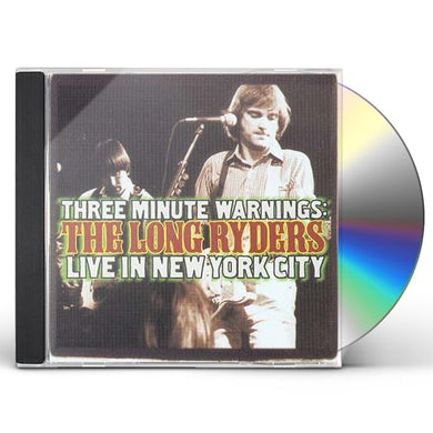 Long Ryders LIVE IN NEW YORK CITY CD