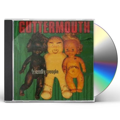 Guttermouth FRIENDLY PEOPLE CD