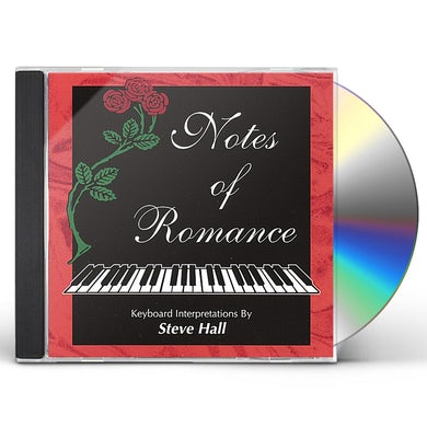 Steve Hall NOTES OF ROMANCE CD