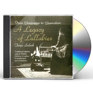 Tanja Solnik FROM GENERATION TO GENERATION: A LEGACY OF LULLABI CD