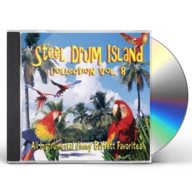 Steel Drum Island COLLECTION: FINS & MORE JIMMY BU CD