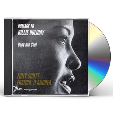 Tony Scott HOMAGE TO BILLIE HOLIDAY CD