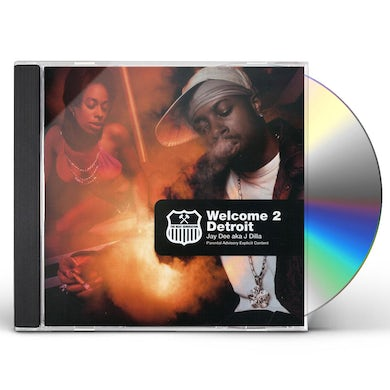 J Dilla WELCOME TO DETROIT CD