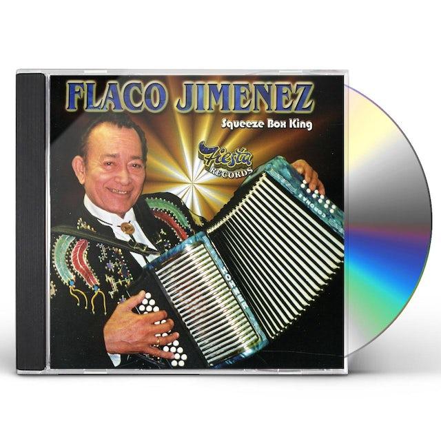 Flaco Jimenez SQUEEZE BOX KING CD