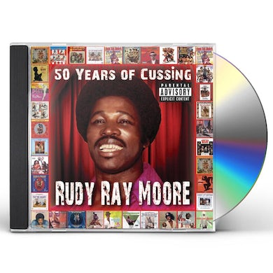 Rudy Ray Moore 50 YEARS OF CUSSING CD