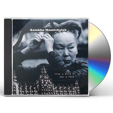 Sainkho Namtchylak LIKE A BIRD OR SPIRIT NOT A FACE CD