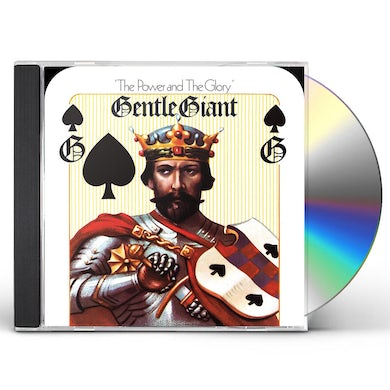 Gentle Giant POWER & THE GLORY (MIXED BY STEVEN WILSON) CD