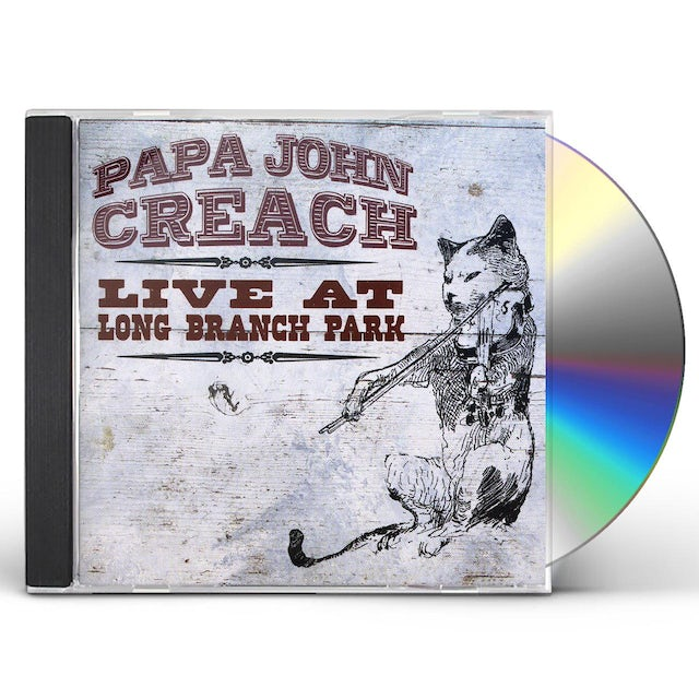Papa John Creach LONG BRANCH PARK 1983 CD