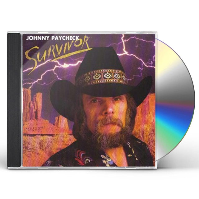 Johnny Paycheck SURVIVOR CD