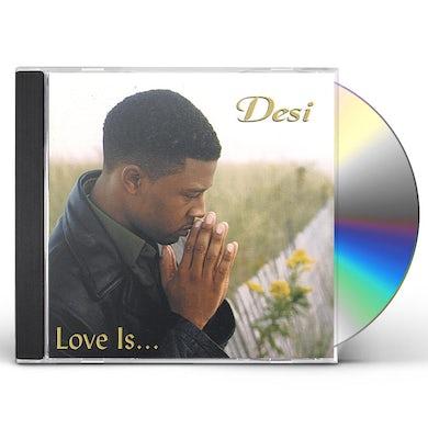 DESI LOVE IS CD