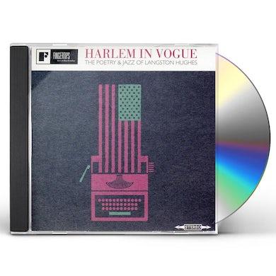 Langston Hughes HARLEM IN VOGUE THE POETRY & JAZZ OF LANGSTON HUGH CD
