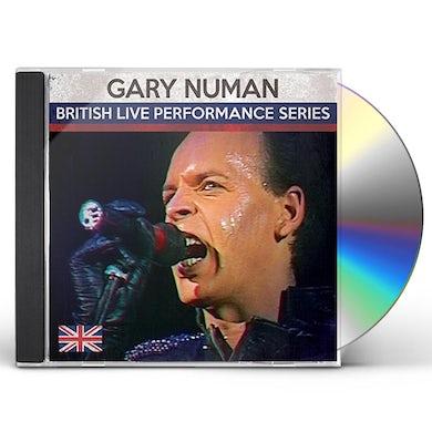 Gary Numan BRITISH LIVE PERFORMANCE SERIES CD