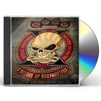 Five Finger Death Punch A DECADE OF DESTRUCTION CD (CLEAN VERSION)