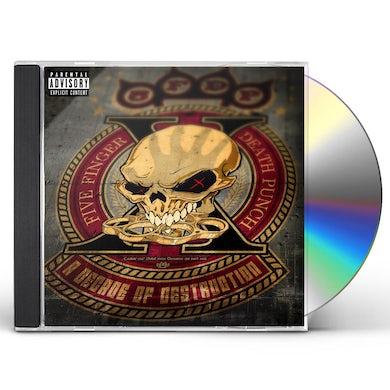 Five Finger Death Punch A DECADE OF DESTRUCTION CD (EXPLICIT)