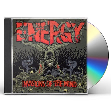 Energy INVASIONS OF THE MIND CD