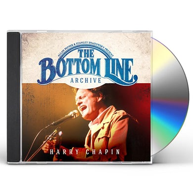 Harry Chapin BOTTOM LINE ARCHIVE SERIES: LIVE 1981 CD