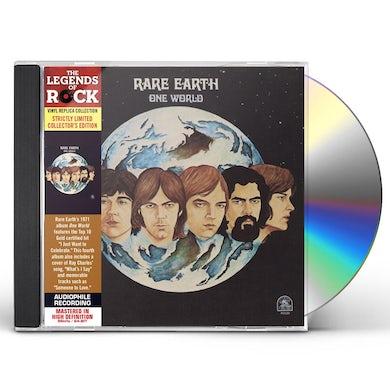 Rare Earth ONE WORLD CD