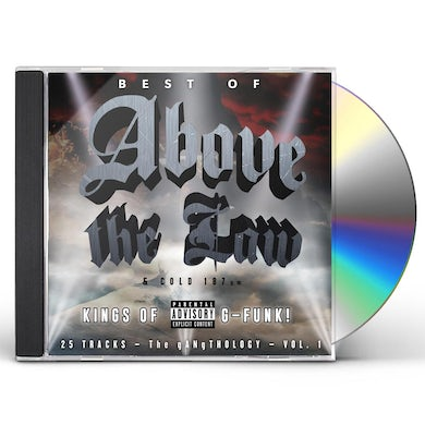 BEST OF ABOVE THE LAW & COLD 187-GANGTHOLOGY VOL.1 CD