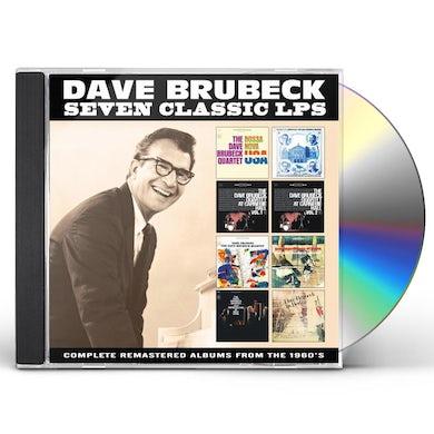 Dave Brubeck SEVEN CLASSIC CD