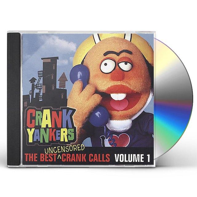 Crank Yankers BEST UNCENSORED CRANK CALLS 1 CD
