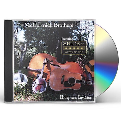 McCormick Brothers BLUEGRASS INVASION CD
