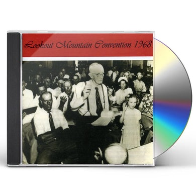 Sacred Harp Singers LOOKOUT MOUNTAIN CONVENTION 1968 CD