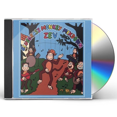 Zev BLUEGRASS MONKEY MIXDOWN CD