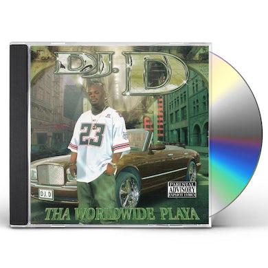DJ D WORLDWIDE PLAYA CD