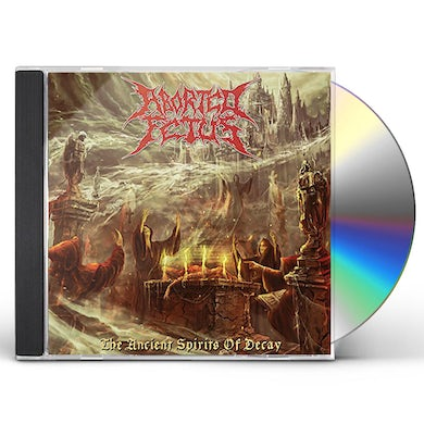 Aborted Fetus ANCIENT SPIRITS OF DECAY CD