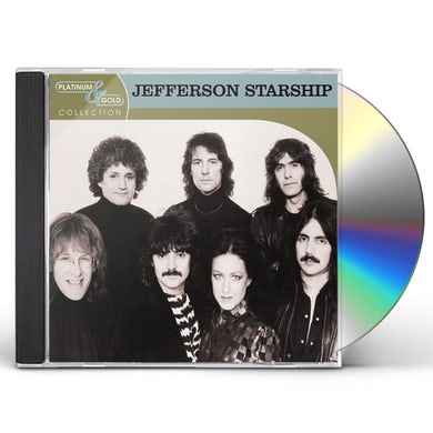 Jefferson Starship PLATINUM & GOLD COLLECTION CD