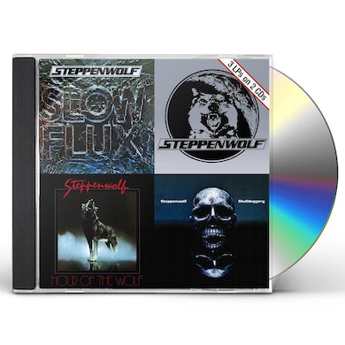 Steppenwolf SLOW FLUX / HOUR OF THE WOLF / SKULLDUGGERY CD