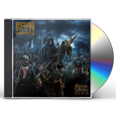 Legion Of The Damned SLAVES OF THE SHADOW REALM CD