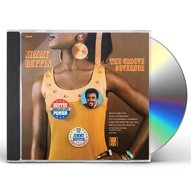 Jimmy Ruffin GROOVE GOVERNOR CD