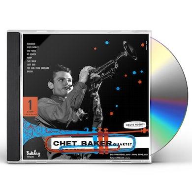 Chet Baker QUARTET VOL 1 (FEAT DICK TWARDZIK) CD