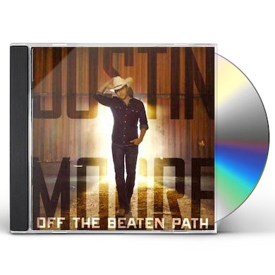 Justin Moore Off The Beaten Path CD