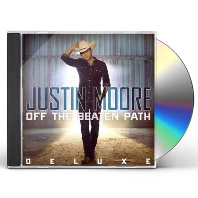 Justin Moore Off The Beaten Path (Deluxe Edition) CD