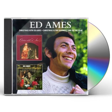 CHRISTMAS WITH ED AMES / CHRISTMAS IS THE WARMEST CD
