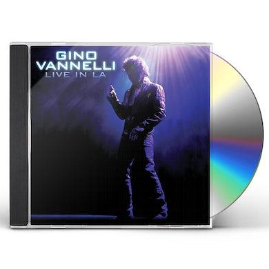 Gino Vannelli LIVE IN LA CD