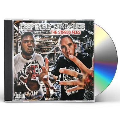 Reef The Lost Cauze STRESS FILES CD