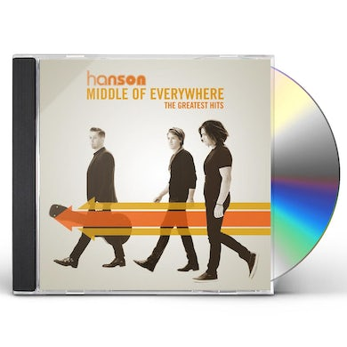 Hanson MIDDLE OF EVERYWHERE - THE GREATEST HITS CD